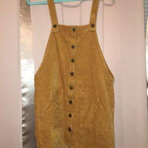 Forever 21 Dresses - Forever 21 corduroy overall dress